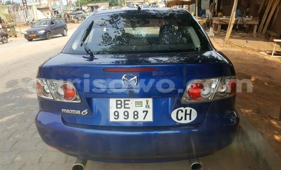 Acheter Occasion Voiture Mazda 6 Bleu à Cotonou, Benin