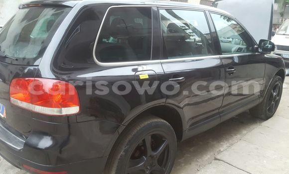 Acheter Occasion Voiture Volkswagen Touareg Noir à Kandi au Benin