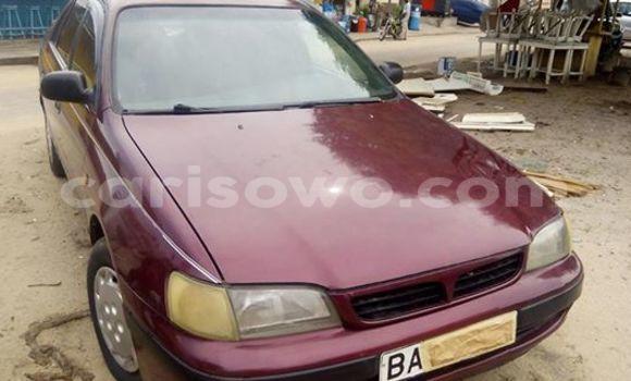 Acheter Occasion Voiture Toyota Carina Rouge à Cotonou, Benin
