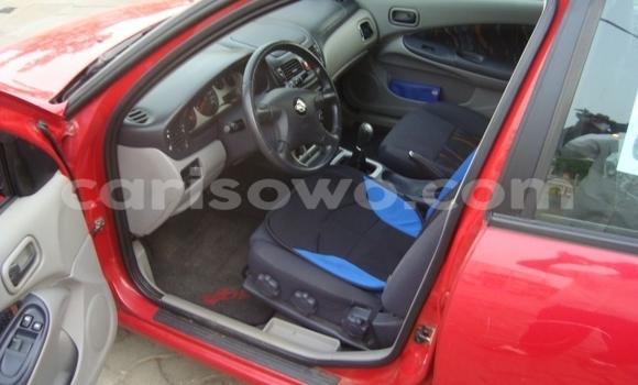 Acheter Occasion Voiture Nissan Almera Rouge à Comé au Benin