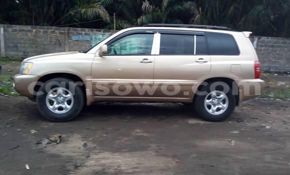 Acheter Occasions Voiture Toyota Highlander Marron à Cotonou au Benin