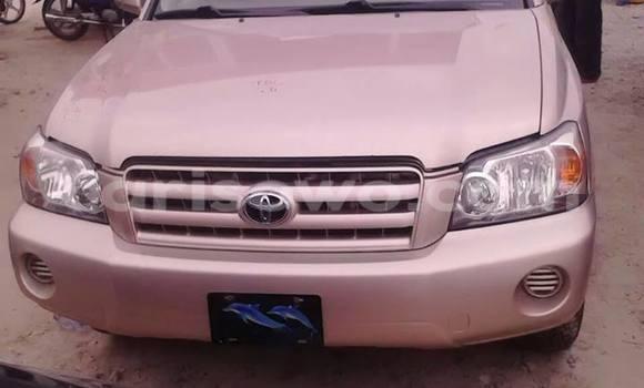 Acheter Occasion Voiture Toyota Highlander Autre à Cotonou, Benin
