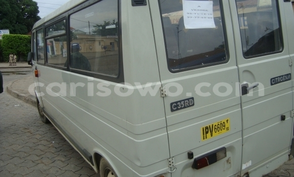 Acheter Occasion Voiture Citroen C3 Blanc à Abomey au Benin