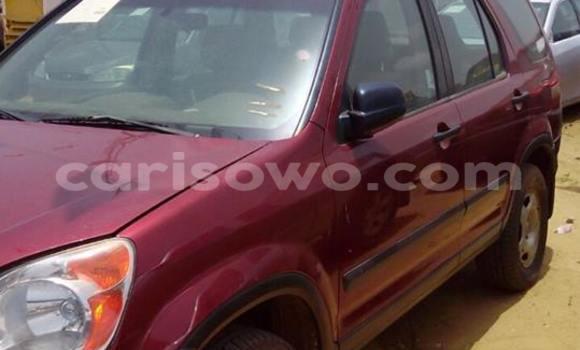 Acheter Occasion Voiture Honda CR-V Rouge à Cotonou au Benin