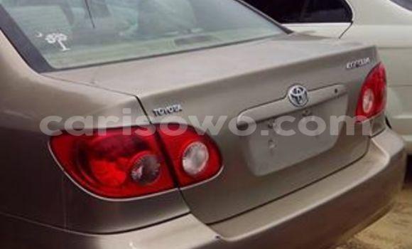 Acheter Occasion Voiture Toyota Corolla Marron à Cotonou, Benin