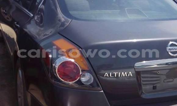 Acheter Occasion Voiture Nissan Altima Noir à Cotonou au Benin