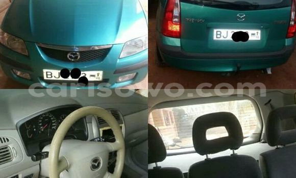 Acheter Occasions Voiture Mazda Premacy Vert à Cotonou au Benin