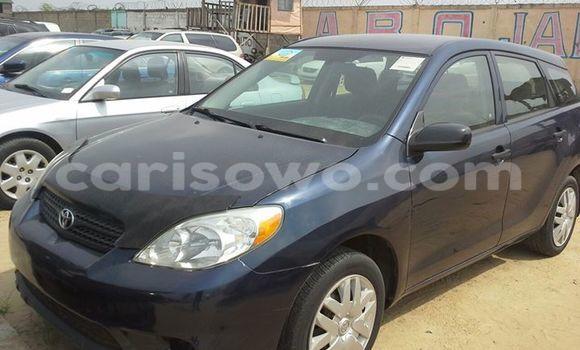 Acheter Occasion Voiture Toyota Matrix Noir à Cotonou, Benin