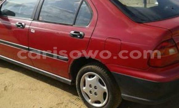Acheter Occasion Voiture Honda Civic Rouge à Cotonou au Benin