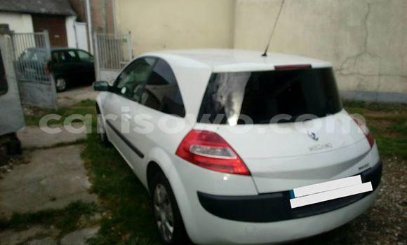 Acheter Occasion Voiture Renault Megane Blanc à Cotonou au Benin