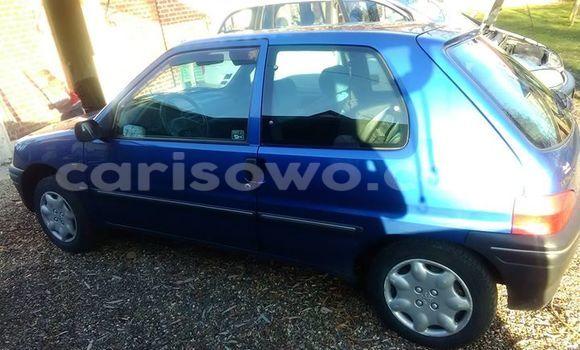 Acheter Occasion Voiture Peugeot 106 Bleu à Cotonou, Benin