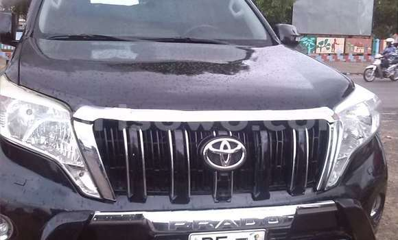 Acheter Occasion Voiture Toyota Land Cruiser Prado Noir à Cotonou au Benin