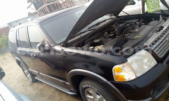 Acheter Occasion Voiture Ford Explorer Noir à Savalou au Benin