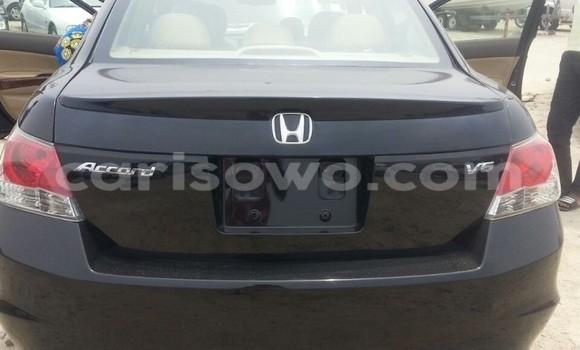 Acheter Occasion Voiture Honda Accord Noir à Cotonou au Benin