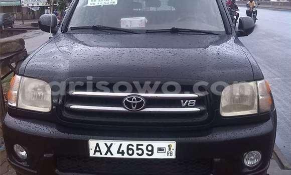 Acheter Occasion Voiture Toyota Sequoia Noir à Cotonou au Benin