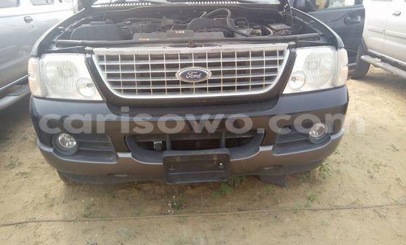 Acheter Occasion Voiture Ford Explorer Noir à Savalou, Benin