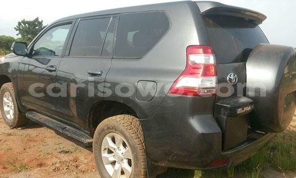 Acheter Occasion Voiture Toyota Prado Noir à Cotonou au Benin