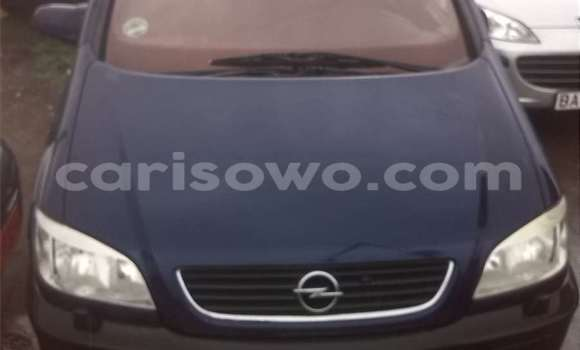 Acheter Occasion Voiture Opel Zafira Bleu à Savalou au Benin