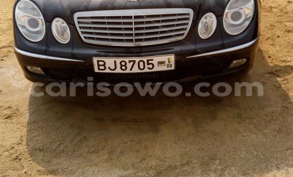 Acheter Occasion Voiture Mercedes‒Benz E-Class Noir à Cotonou au Benin