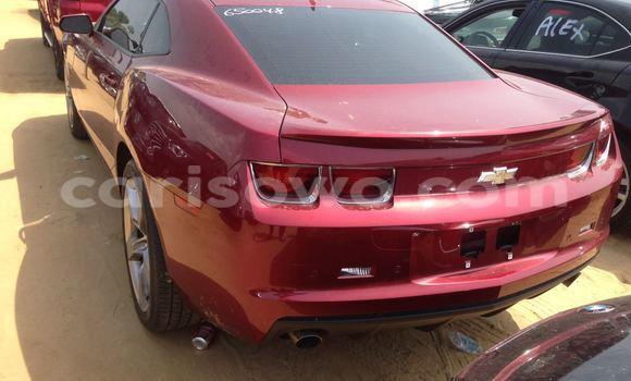 Acheter Occasions Voiture Chevrolet Camaro Rouge à Cotonou au Benin