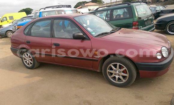 Acheter Occasion Voiture Toyota Corolla Rouge à Comé, Benin