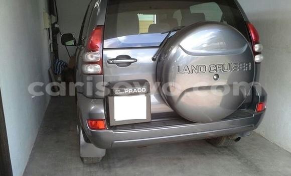 Acheter Occasion Voiture Toyota Prado Gris à Comé au Benin