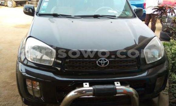 Acheter Occasion Voiture Toyota RAV4 Noir à Comé au Benin