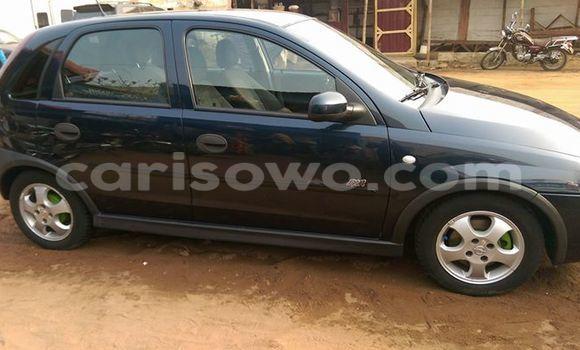 Acheter Occasion Voiture Opel Corsa Noir à Comé au Benin