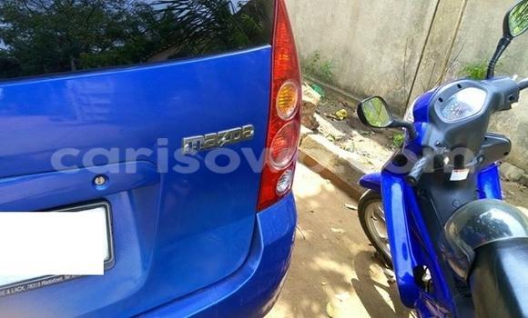 Acheter Occasion Voiture Mazda Premacy Bleu à Comé au Benin