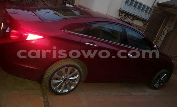 Acheter Occasion Voiture Hyundai Sonata Rouge à Savalou, Benin