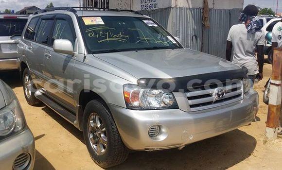 Acheter Occasion Voiture Toyota Highlander Gris à Savalou, Benin