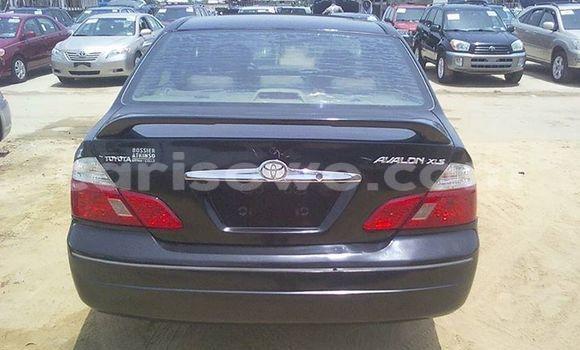 Acheter Occasion Voiture Toyota Avalon Noir à Savalou au Benin