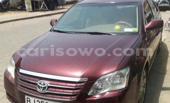 Acheter Occasion Voiture Toyota Avalon Rouge à Savalou au Benin