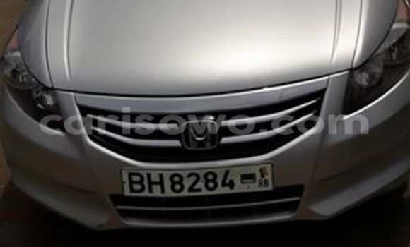 Acheter Occasion Voiture Honda Accord Gris à Savalou au Benin