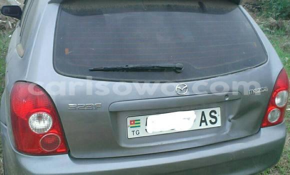 Acheter Occasion Voiture Mazda 323 Gris à Savalou, Benin