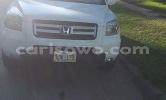 Acheter Occasion Voiture Honda Pilot Blanc à Savalou, Benin