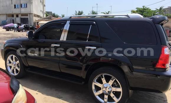 Acheter Occasions Voiture Toyota 4Runner Noir à Savalou, Benin