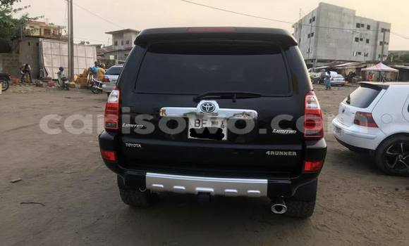 Acheter Occasion Voiture Toyota 4Runner Noir à Savalou au Benin