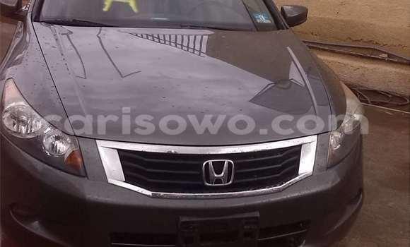 Acheter Occasion Voiture Honda Accord Noir à Porto Novo au Benin