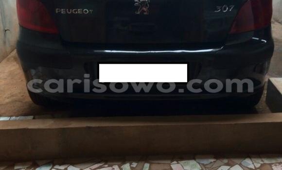 Acheter Occasion Voiture Peugeot 307 Noir à Cotonou au Benin