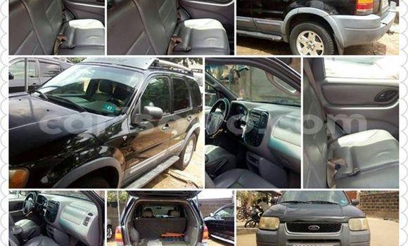 Acheter Neuf Voiture Ford Escape Noir à Cotonou au Benin