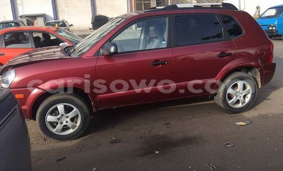 Acheter Occasion Voiture Hyundai Tucson Rouge à Cotonou au Benin