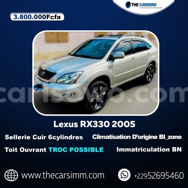 Big with watermark lexus rx 330 benin cotonou 10870