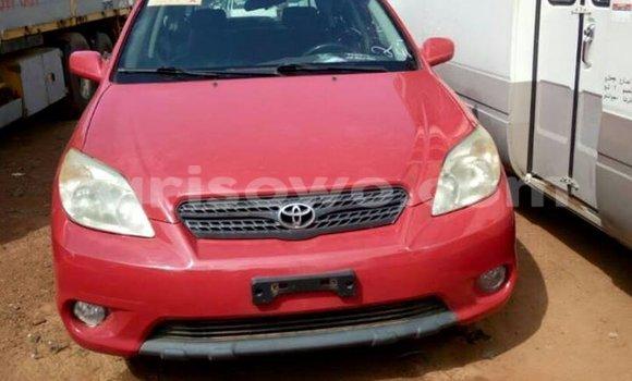 Acheter Occasion Voiture Toyota Matrix Rouge à Savalou, Benin