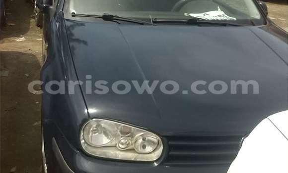 Acheter Occasion Voiture Volkswagen Golf Bleu à Cotonou au Benin