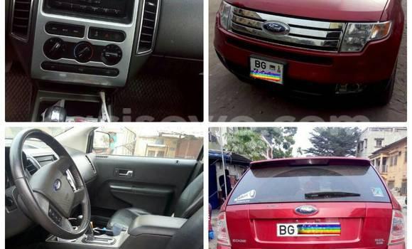 Acheter Occasion Voiture Ford Edge Rouge à Cotonou au Benin