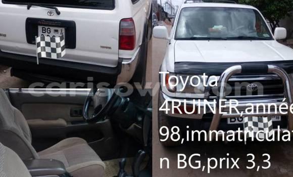 Acheter Occasion Voiture Toyota 4Runner Blanc à Cotonou au Benin
