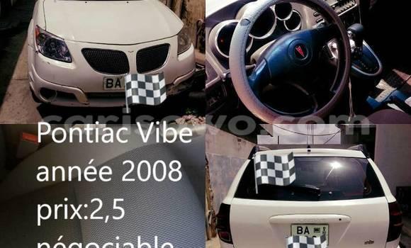 Acheter Occasion Voiture Pontiac Vibe Blanc à Cotonou, Benin