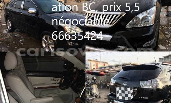 Acheter Occasion Voiture Lexus RX 330 Noir à Cotonou au Benin