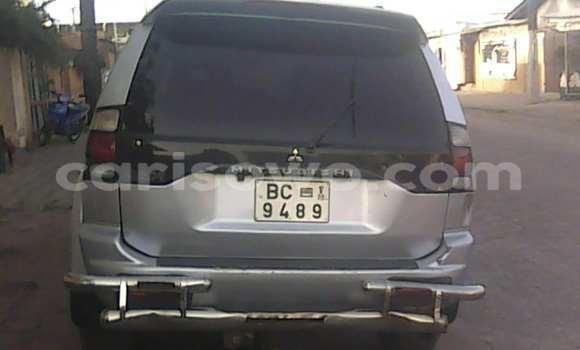 Acheter Occasion Voiture Mitsubishi Montero Gris à Savalou, Benin